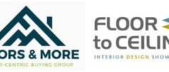 Floors & More Logo both