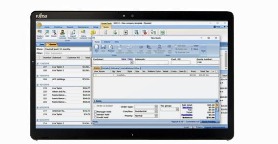 Fujitsu Q738 Tablet PC - $1,395 00